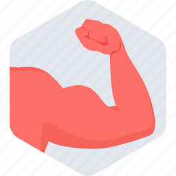 arm, healthy, muscles icon