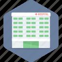 hospital, building, clinic, health, medical