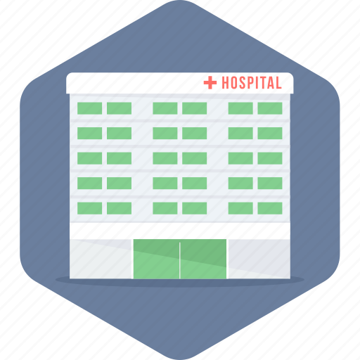 building, clinic, health, hospital, medical icon