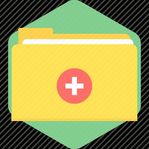 file, health, healthcare, medical, record, report icon