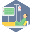 care, emergency, healthcare, icu, medical, patient, treatment icon