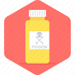 caution, danger, poison, warning icon