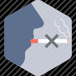 cigarette, no smoking, quit, smoke, smoking, stop icon