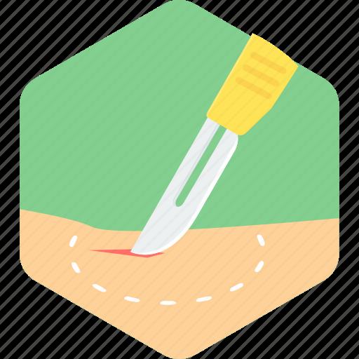 blade, operation, surgery, treatment icon