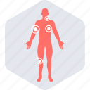 anatomy, body, checker, medical, symptom icon