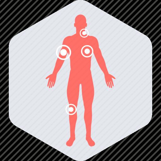 anatomy, body, checker, medical, symptom icon