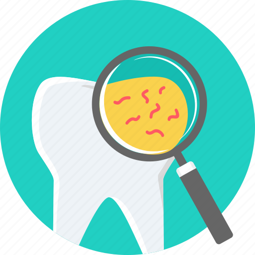 bacteria dental germs hygiene infection teeth tooth icon