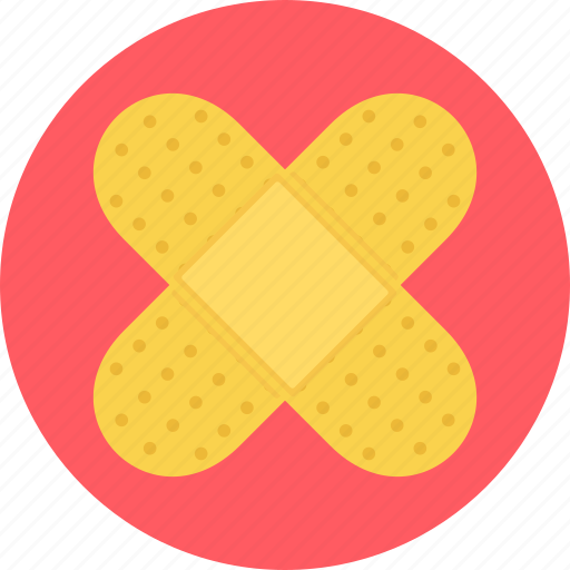 aid, band, band-aid, bandage, bandaid, dressing, firstaid icon