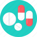 capsules, drug, medicine, medicines, pill, pills, tablet icon