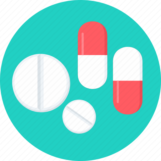 capsules, drug, medicine, medicines, pill, pills, tablet icon