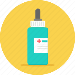 bottle, dropper, health, healthcare, medicine, syrup icon