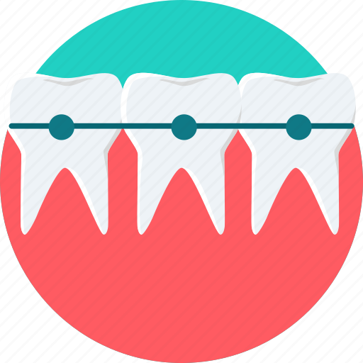 Brace, braces, teeth, tooth, dental, dentist, dentistry icon - Download on Iconfinder