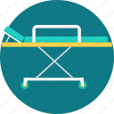 aid, barrow, emergency, hand, handbarrow, medical, stretcher icon