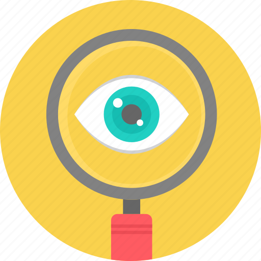 find, instrument, magnifier, magnifying glasses, medical, search, vision icon