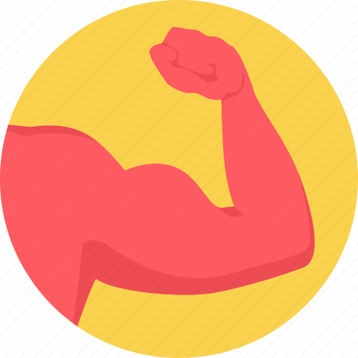 arm, fitness, gym, health, muscle icon