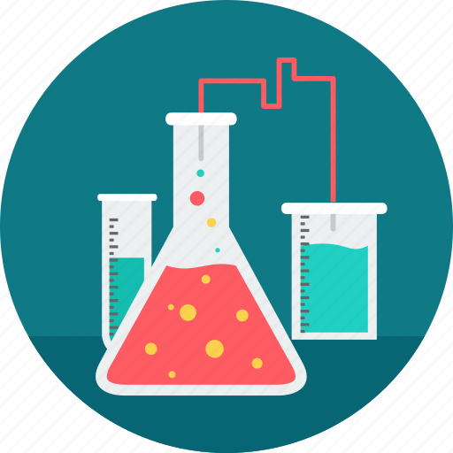chemical, experiment, flask, laboratory, liquid, research, science icon