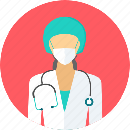 doctor, emergency, nurse, practitioner, specialist, stethoscope, surgeon icon