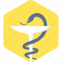 asclepius, health, healthcare, logo, medical, sign