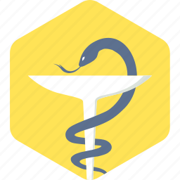 asclepius, health, healthcare, logo, medical, sign icon