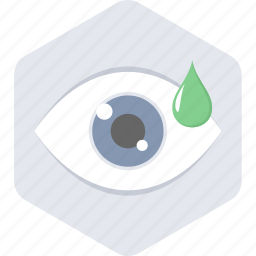 eye, eye drops, test, treatment icon