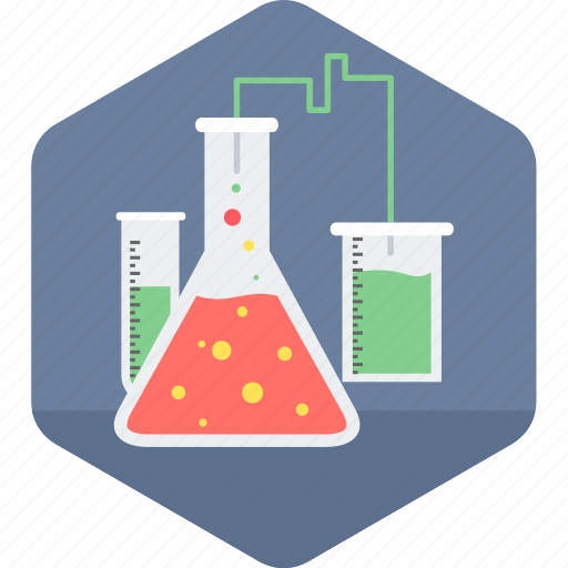 flask, lab, laboratory, medical, test icon