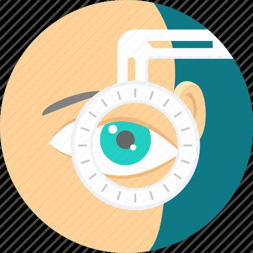 eye, eye test, view, vision icon
