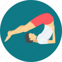 exercise, fitness, gym, health, healthy, sport, yoga icon