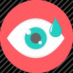 eye, eye drop, eyedrop, eyes, spectacles, vision icon