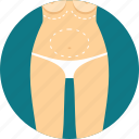 abdomen, anatomy, biology, breast, stomach, surgery icon