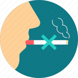 cigarette, no smoking, smoke, smoking icon