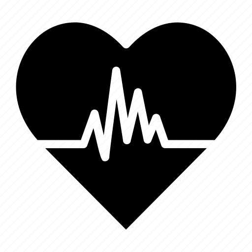 heart, heart rate, medical, rate icon