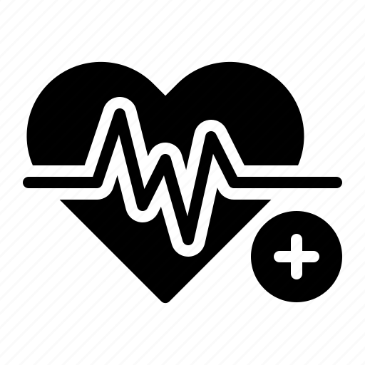 healthcare, heart, heart beat, heart rate, medical, rate icon