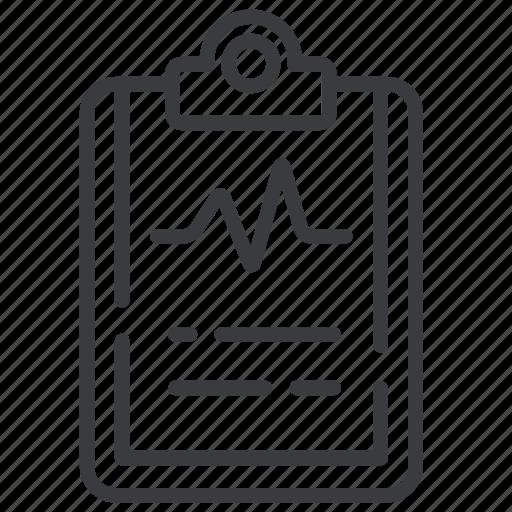 Cardiogram, medical diagnosis, medical test icon - Download on Iconfinder