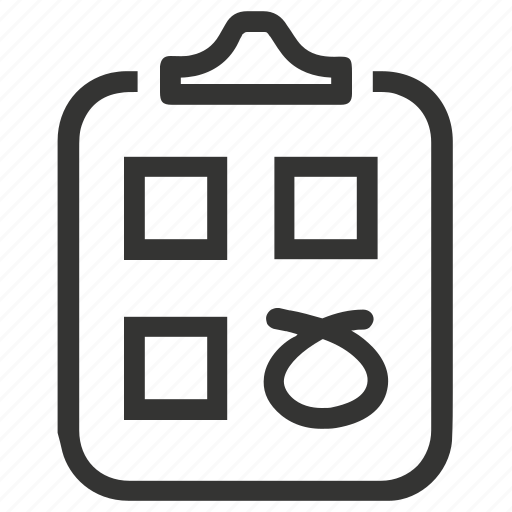 audit, checklist, exam, report, tests icon