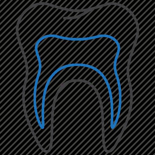 decay, oral, teeth icon