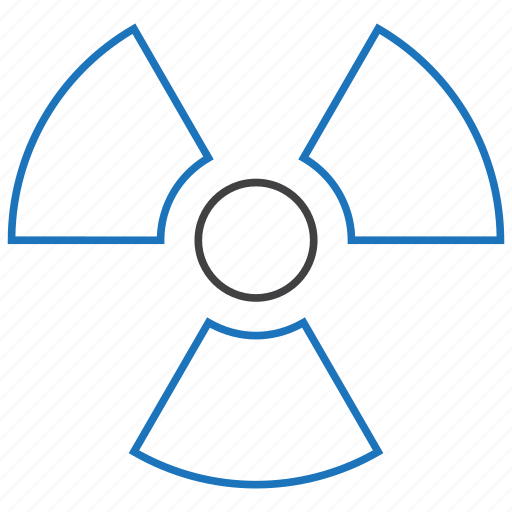 nuclear, radiation icon