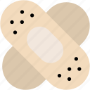 aid, bandage, bandaid, care, medical, plaster, treatment icon