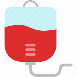 bag, blood, bottle, hospital, medical, patient, transfusion icon