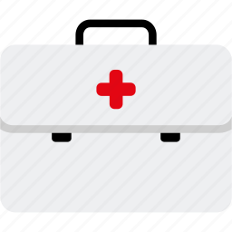 aid, box, emergency, first, healthcare, injury, medical icon