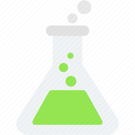 erlenmeyer, experiment, flask, laboratory, research, science, test icon