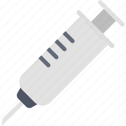 doctor, injection, medical, patient, syringe, treatment, vaccination icon