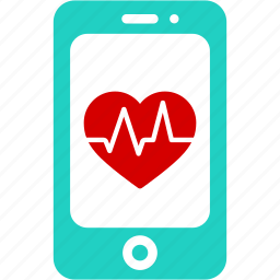 aid, app, healthcare, heart, medical, mobile, smartphone icon