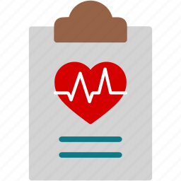 clipboard, diagnosis, healthcare, medical, paper, prescription, report icon