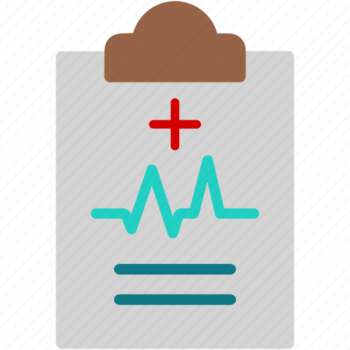 clipboard, diagnosis, healthcare, medical, paper, prescription, report icon