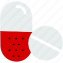 antibiotic, capsules, drugs, medical, medicine, pill, tablet icon