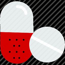 antibiotic, capsules, drugs, medical, medicine, pill, tablet icon