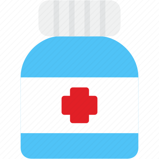 bottle, drug, healthcare, medicine, pharmacy, pills, tablet icon