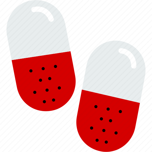 antibiotic, capsules, drugs, healthcare, medical, medicine, pills icon