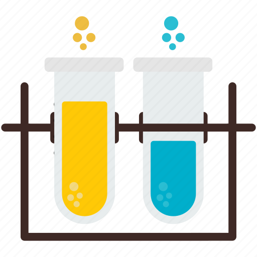 experiment, lab, laboratory, science, test, testing, tubes icon