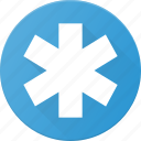 ambulace, help, sign, simbol icon